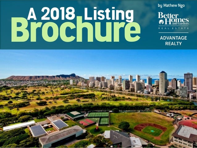 Brochure A 2018 Listing by Mathew Ngo
