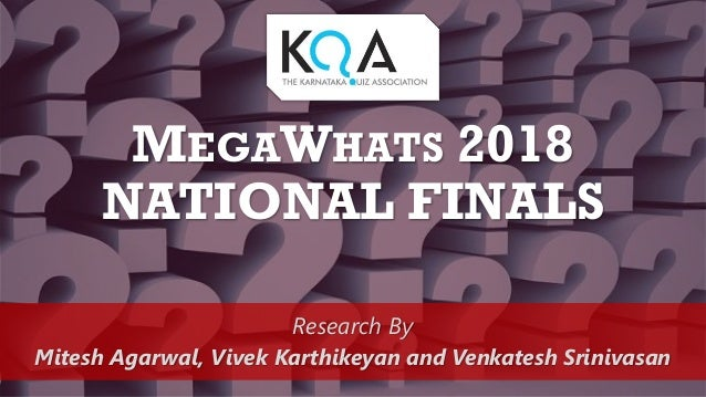 2018 KQA MegaWhats Finals