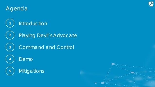 MITRE ATT&CKcon 2018: Playing Devil's Advocate to Security Initiatives with ATT&CK, David Middlehurst, Trustwave Slide 2