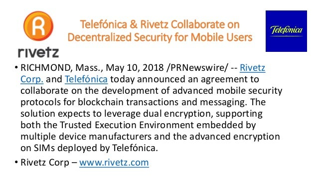 Rivetz description