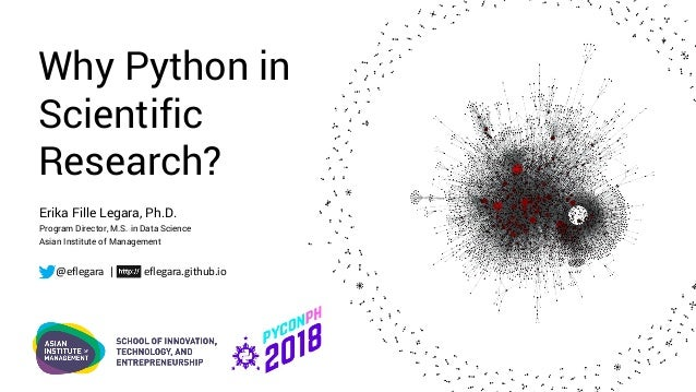 Why Python in Scientific Research?