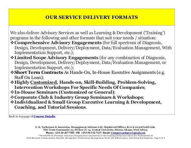 E. K. Torkornoo & Associates, Management Advisors Ltd.: Registered Offices At 21 & 22 3rd Gold Link, TDC Tema Community 25...