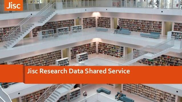 Jisc Research Data Shared Service