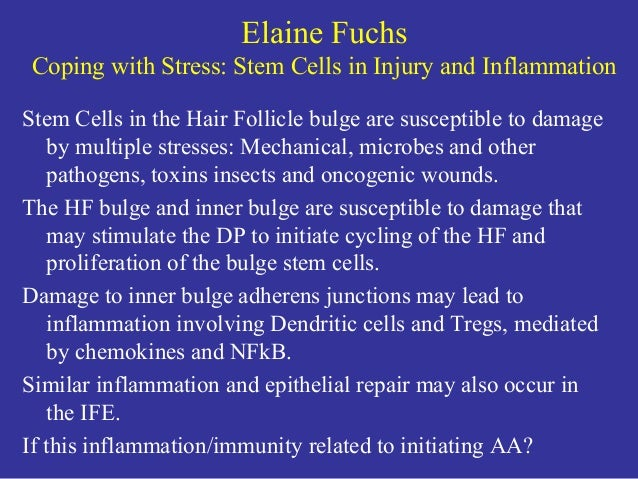 2018 Alopecia Areata Research Summit: Summary of First Day Slide 3