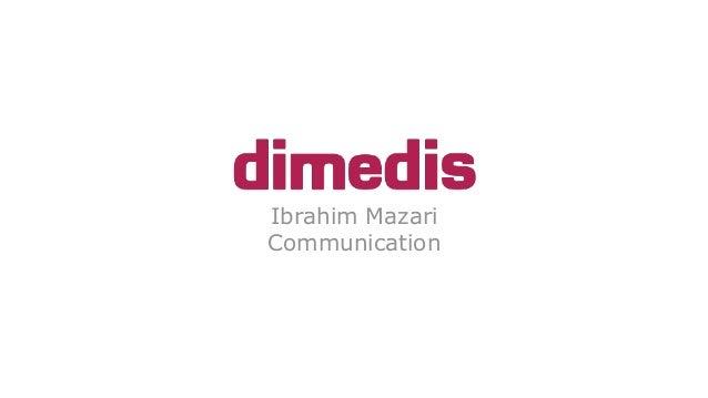 Ibrahim Mazari Communication