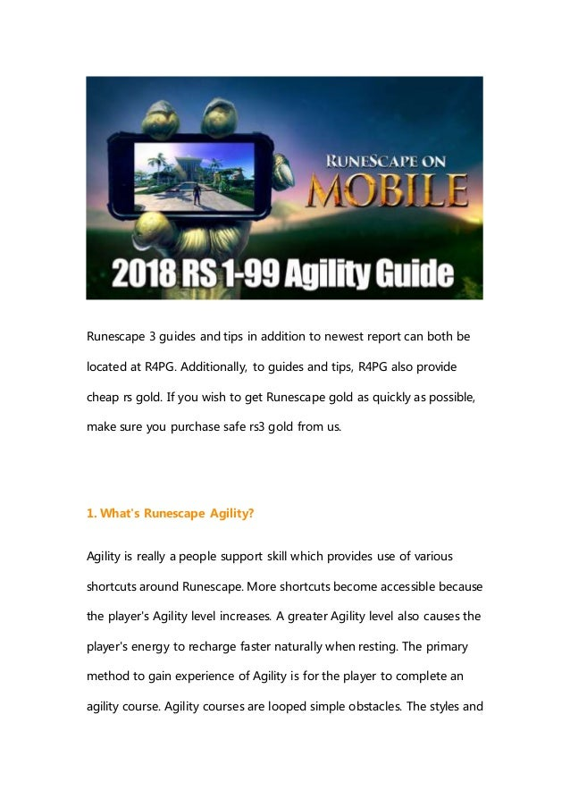 How To Training Runescape Agility 2