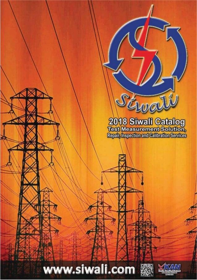 2018 Siwali Catalog | Katalog Alat Ukur
