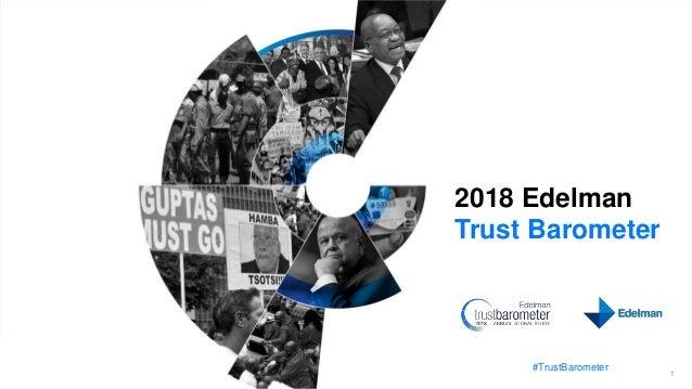#TrustBarometer 1 2018 Edelman Trust Barometer