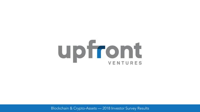 Blockchain & Crypto-Assets — 2018 Investor Survey Results