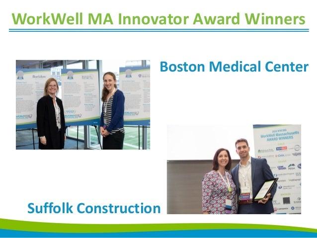2018 WorkWell Massachusetts Award Winners