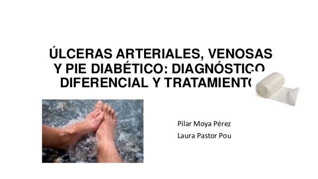 ÚLCERAS ARTERIALES, VENOSAS Y PIE DIABÉTICO: DIAGNÓSTICO DIFERENCIAL Y TRATAMIENTO Pilar Moya Pérez Laura Pastor Pou