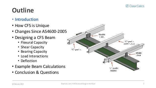 Designing a Cold-Formed Steel Beam Using AS4600:2018 and