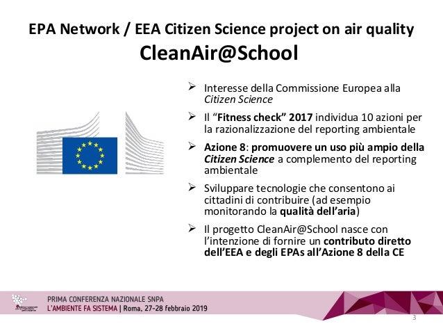 """ Interesse della Commissione Europea alla Citizen Science  Il """"Fitness check"""" 2017 individua 10 azioni per la razionaliz..."""