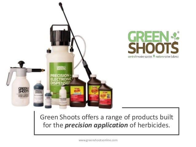 Precision Foam and Spray Dispensers from Green Shoots Slide 2