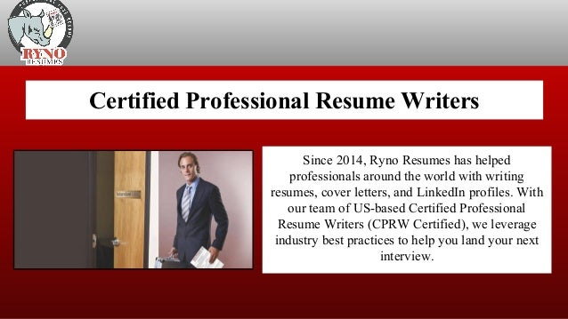 Top Professional Resume Writing Services Ryno Resumes Llc