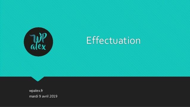 wpalex.fr Effectuation mardi 9 avril 2019