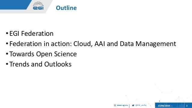 Distributed scientific computing for open science, eResearch Africa 2019 Slide 2