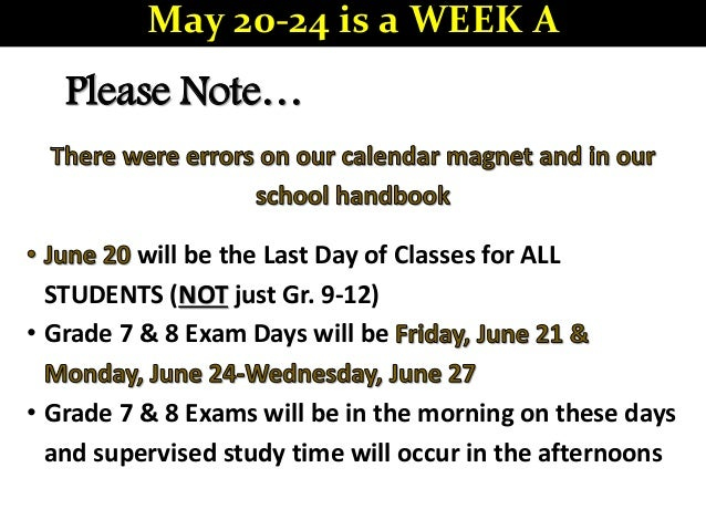 2019-05-20 bchs announcements