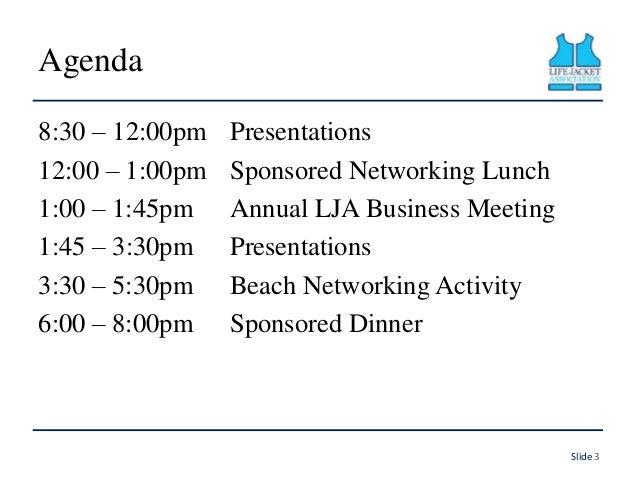 LJA Conference Introduction Slide 3