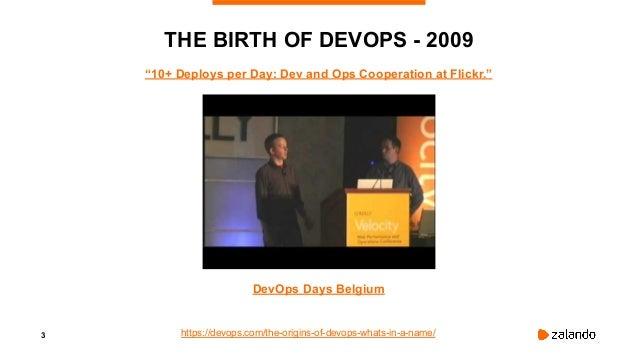 Why we don't use the Term DevOps: the Journey to a Product Mindset - DevOpsCon Berlin 2019 Slide 3