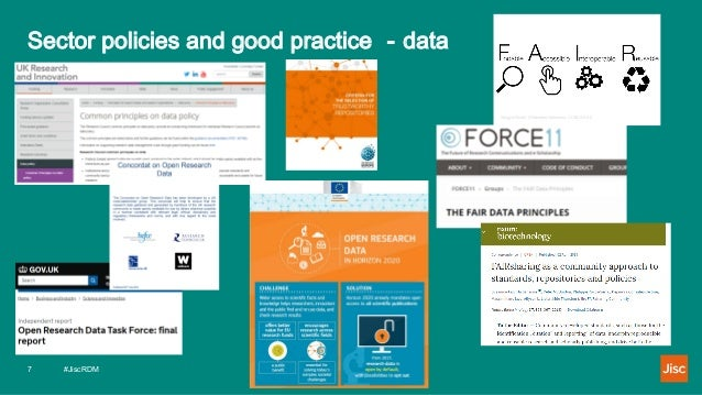 Sector policies and good practice - data Sungya Pundir, Wikimedia Commons, CC By-SA 4.0 #JiscRDM7
