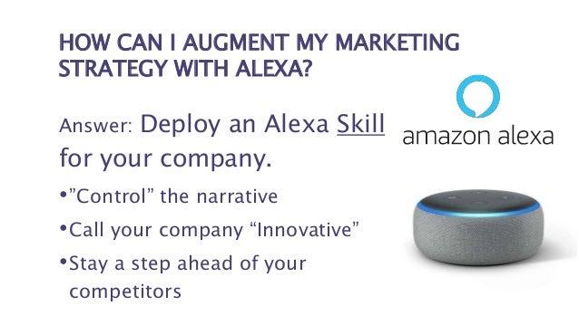 ALEXA SKILLS = THE NEXT APP STORE