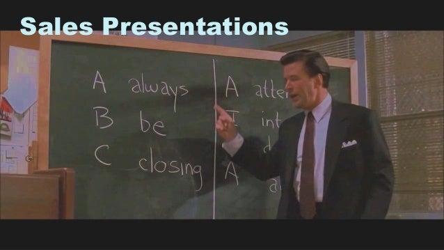 31 Sales Presentations
