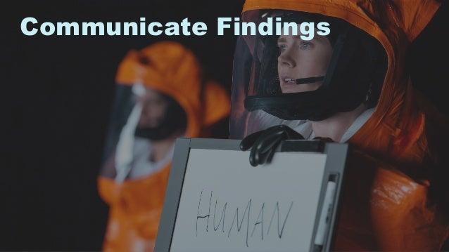 33 Communicate Findings