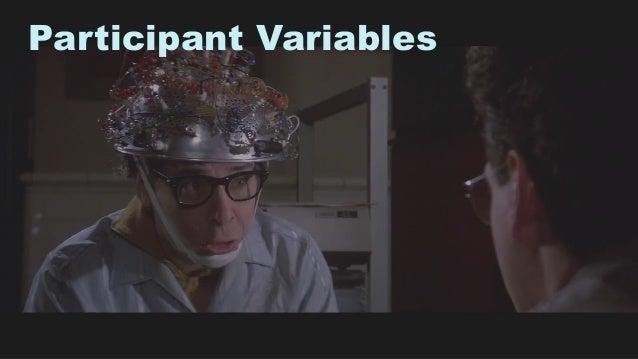 40 Participant Variables