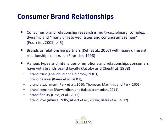 customer brand relationship definition male