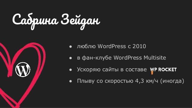 ● люблю WordPress с 2010 ● в фан-клубе WordPress Multisite ● Ускоряю сайты в составе ● Плыву со скоростью 4,3 км/ч (иногда...