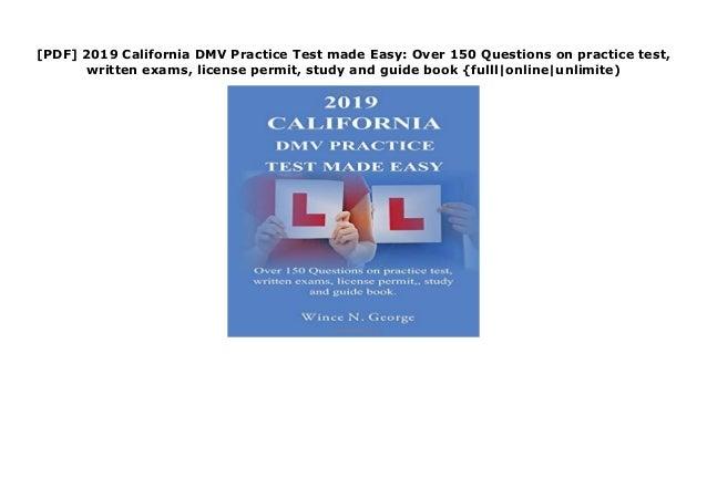 By Photo Congress || Dmv Practice Test 2019 California Online