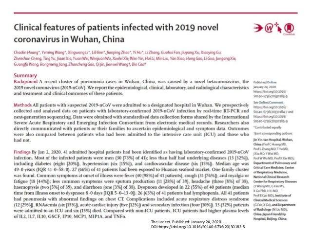 Covid 19 Coronavirus Disease 2019 Update