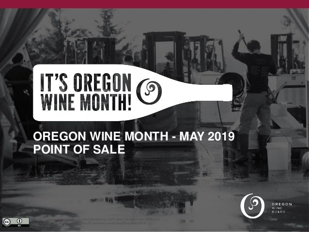 OREGON WINE MONTH - MAY 2019 POINT OF SALE