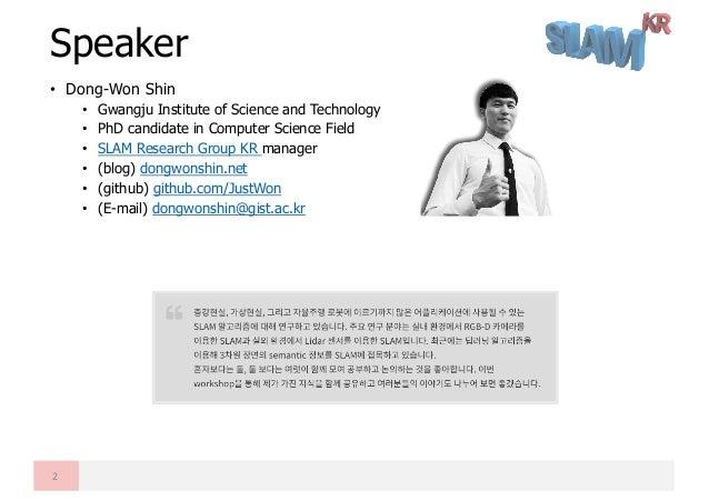 Introductory Level of SLAM Seminar