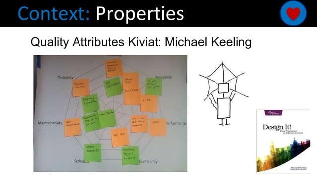 Context: Properties Quality Attributes Kiviat: Michael Keeling