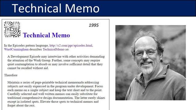 Technical Memo 1995