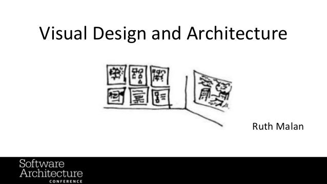 Visual Design and Architecture Ruth Malan