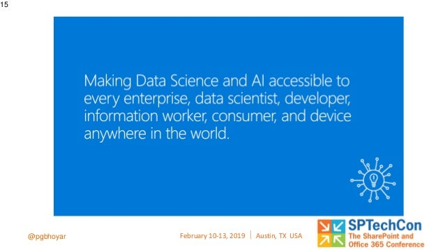 Introduction to AI and Cognitive Services For Microsoft 365