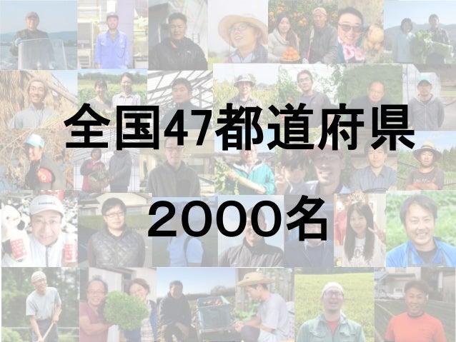 全国47都道府県 2000名