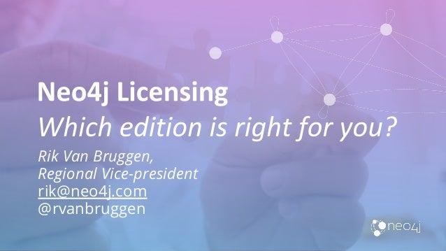 Rik Van Bruggen, Regional Vice-president rik@neo4j.com @rvanbruggen