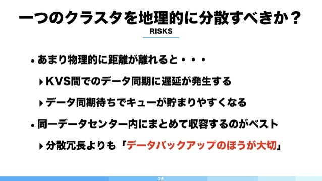 26 サービス稼働中のArukasを東京に移設 石狩 Master Work Node ワークノード 東京 Master Work Node IP付け替えながら Masterを移設 シャットダウンしながら Work Nodeを移設 ちなみに、...