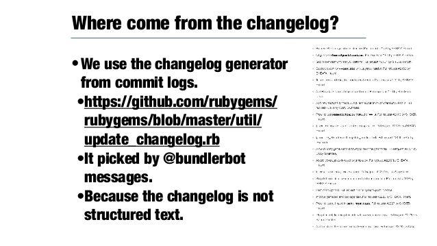 •https://github.com/rubygems/rubygems/ pull/2142 •Related with https://nvd.nist.gov/vuln/ detail/CVE-2017-17405 •Given the...
