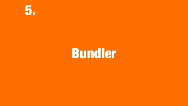 •We are working to integrate RubyGems and Bundler. •I'm working it because Bundler 2 was released. •RubyGems 3&4 drop to s...