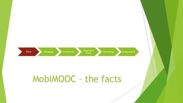 MobiMOOC design of a community MOOC Slide 2