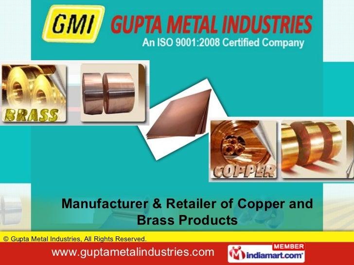 Gupta Metal Industries Haryana india