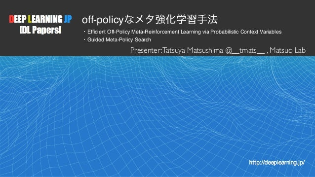 1 off-policy Efficient Off-Policy Meta-Reinforcement Learning via Probabilistic Context Variables Guided Meta-Policy Searc...