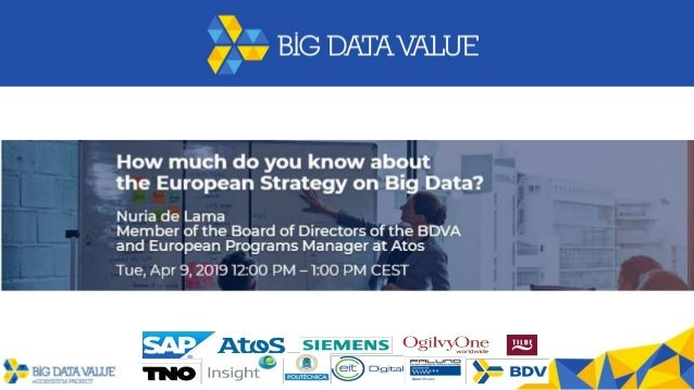 The Big Data Value PPP in brief