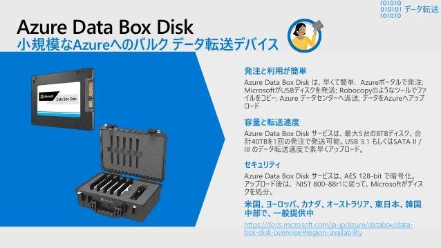 Azure Data Box Heavy プレビュー 大規模なデータをAzureへ転送するためのData Box 大容量データをクラウドへ移行 データ転送