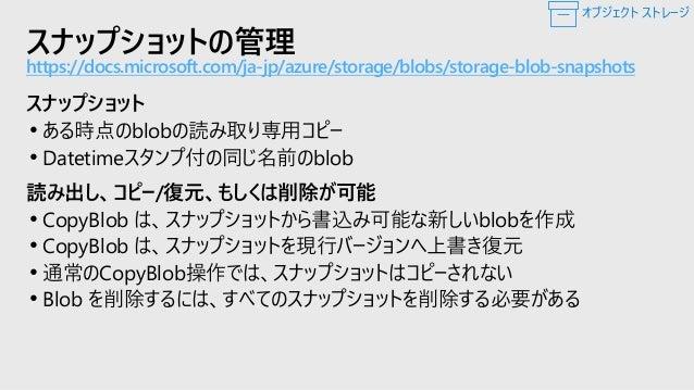 Azure Search: Blob Storageのフル テキスト 検索 Azure Search is a search-as-a-service cloud solution • PDF • Office (DOCX/DOC, XLSX/...